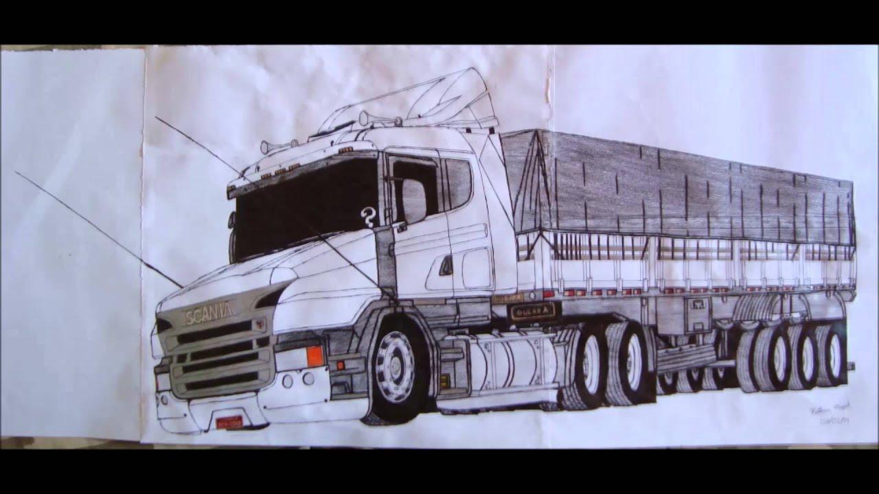 Mdd Mafia Do Desenho Scania T124 420 Youtube