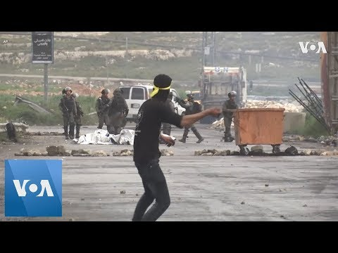 Israeli Soldiers Clash With Palestinian Protesters On Land Day