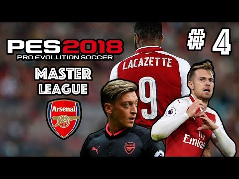 PES 2018 | MASTER LEAGUE W/ ARSENAL FC | EPISODE 4 | ALEXIS IS ON FIRE!