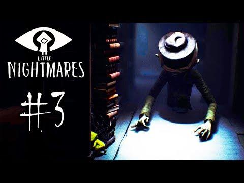 ПОБЕГ ОТ ДЛИННОРУКОГО МОНСТРА! Мои Маленькие Кошмары - Little Nightmares #3
