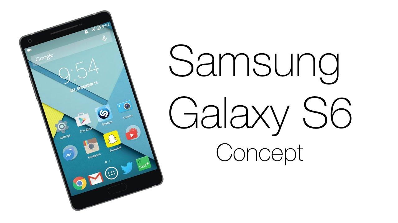 Samsung Galaxy S6 Concept - YouTube
