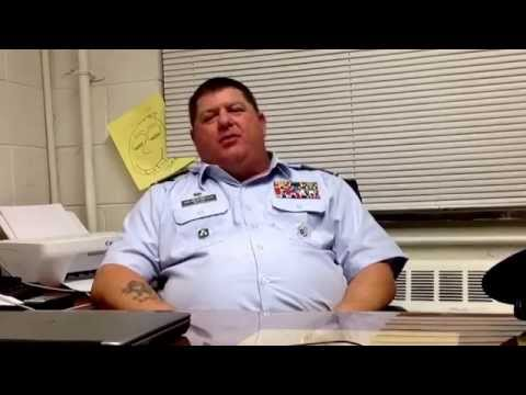 Senior project, interview with Major Jeff Miller