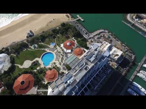 Drone flight, Vilamoura Marina, Algarve Portugal 2017