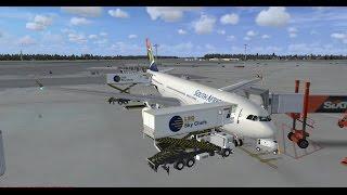 FSX   FSCloud   FAOR - FACT - EDDH   South African Airways Airbus A330-200 Part 1