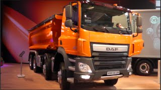 DAF CF 460 Dump Truck 2015 In detail review walkaround Interior Exterior