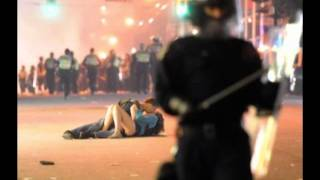 Kissing Couple In Vancouver Riot