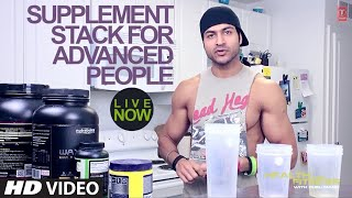 Build Muscle Mass - Supplement Stack for Advanced people | Health and Fitness | Guru Mann