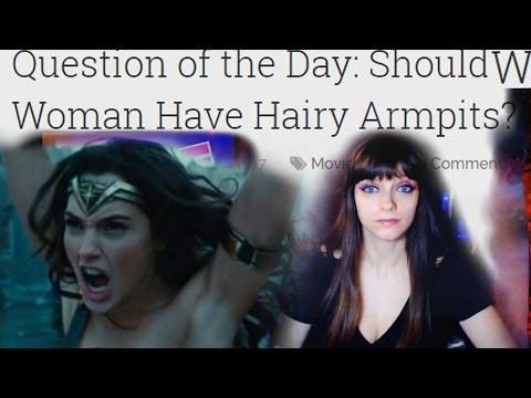 Should Wonder Woman Have Hairy Armpits?😱