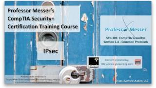 Understanding IPsec - CompTIA Security+ SY0-301: 1.4