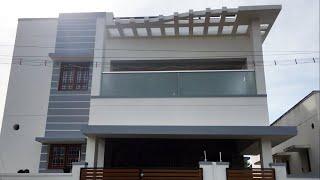 4 5 Centல் 2800 SQFT அழகான 4BHK Villa for Sale 75 Lakhs / Gated Community   VH188