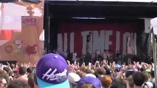 All Time Low - Dear Maria, Count Me In (Live Warped Tour 2012 @ Palace of Auburn Hills)
