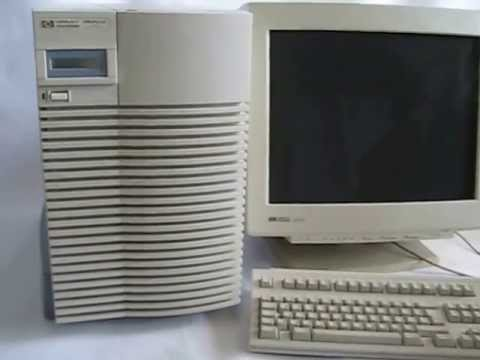 Booting HP9000 J280 Workstatio...