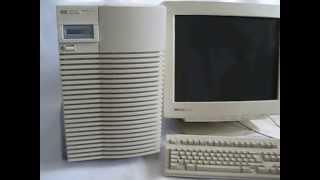 Booting HP9000 J280 Workstation