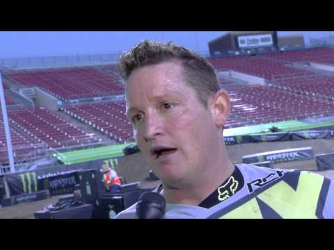 2013 Monster Energy Cup - Ricky Carmichael Interview on Press Day