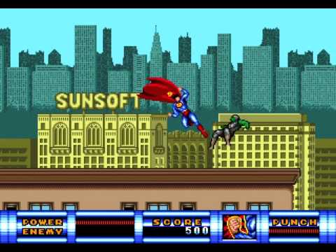 Superman | Mega Drive/ Genesis Longplay [60 fps]