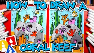 How To Draw A Coral Reef