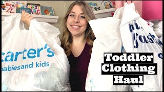 HUGE TODDLER & BABY CLOTHING HAUL PT. 2