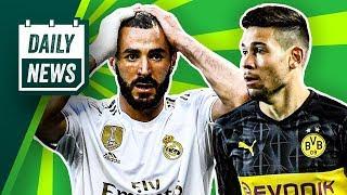 Guerreiro bleibt Schwarz-Gelb! Offiziell: Barcelona vs. Real Madrid wird verschoben!