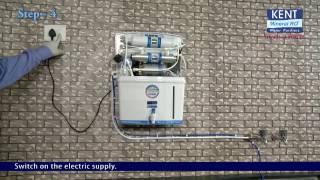 """""""केंट ग्रैंड +"""" पानी का शुधिकरण यंत्र इंस्टॉल करने की प्रक्रिया (हिन्दी मे) - केंट आरओ"""