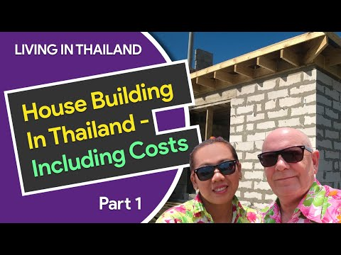 House Building In Thailand - Including Costs