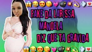 Fake da Larissa Manoela diz que ta gravida