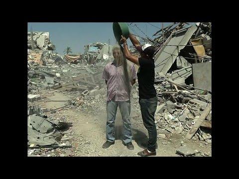 Gaza journalist launches 'Rubble Bucket Challenge'