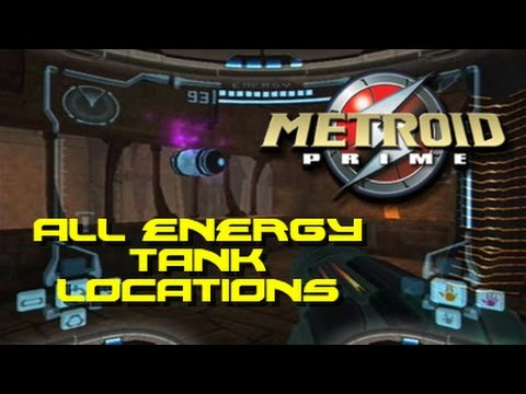 Metroid Prime: All Energy Tank Locations