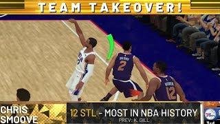 NBA 2K19 My Career EP 24 - Set Steals Record 14! thumbnail