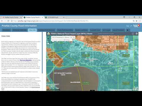 Flood Insurance Rate Map (FIRM) Tutorial