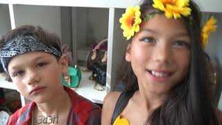 DRESSING LIKE ADULTS ON OUR LAST DAY OF SCHOOL **Prank On Dad** | Familia Diamond