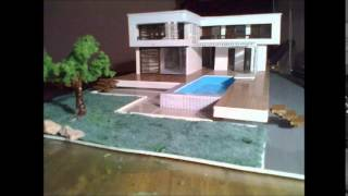 макет дома из ПВХ (model of private house in menorca)(, 2014-11-23T19:07:38.000Z)