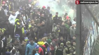 Radiosarajevo.ba: Policija interevenisala na južnoj tribini Bilinog polja