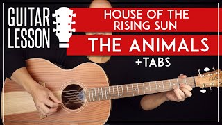 House Of The Rising Sun Guitar Lesson The Animals Guitar ...