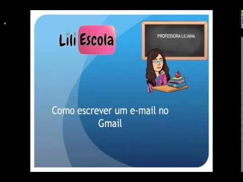 Como escrever um email no Gmail.