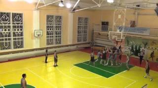 Basketball 22.12.2012 Ramenskoe - Kolomna