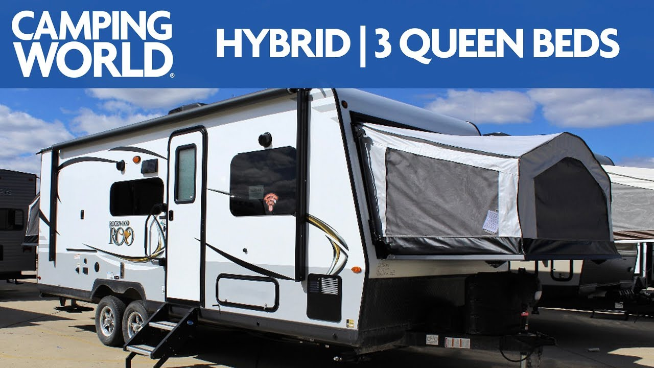 2019 Rockwood Roo 233s Travel Trailer Rv Review Camping World