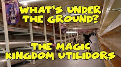What's Under the Ground?  The Magic Kingdom Utilidors - Confessions of a Theme Park Worker
