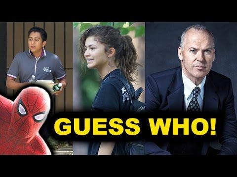Spider-Man Homecoming Cast - Michael Keaton as Norman Osborn? Zendaya as Mary Jane?
