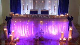 Украшение Зала, оформление свадьбы