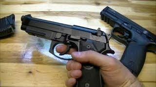 пистолет Beretta 92 FS, Часть 3: философия использования