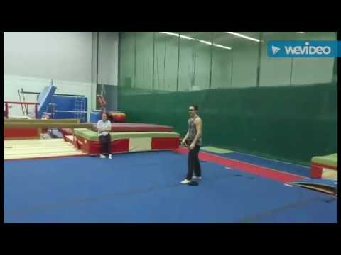 Tricks Training at Louis Jolliet and I saute