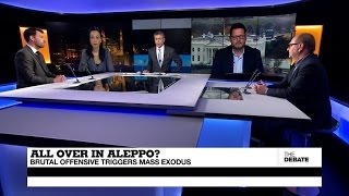 All Over in Aleppo? Brutal offensive triggers mass exodus (part 1)
