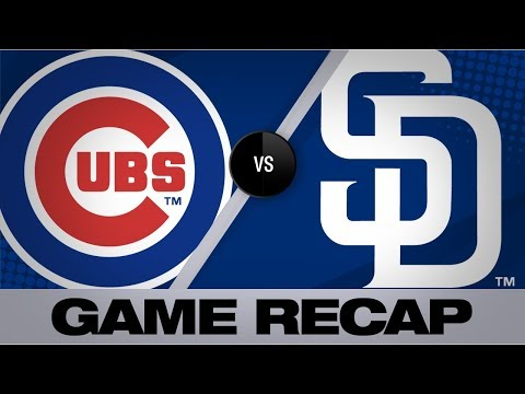 Moerner Shines In Debut As Cubs Win, 10-2 | Cubs-Padres Game Highlights 9/9/19