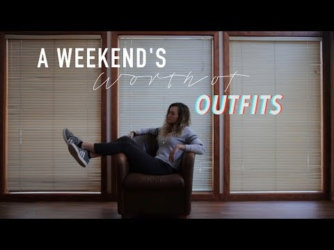 A Weekend's Worth of Outfits