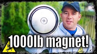 MAGNET FISHING WITH AMAZONS BIGGEST MAGNET