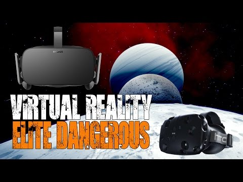Virtual Reality: HTC Vive & Oculus Rift - What is it like & are they worth it for Elite Dangerous?