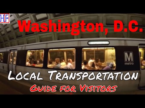 Washington, D.C | Public Transportation | Tourist Information | Episode# 2