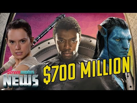 Black Panther Joins the $700 Million Club - Charting with Dan!