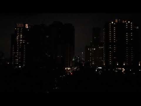 Blackout in Taiwan: Kaohsiung Aozihdi park
