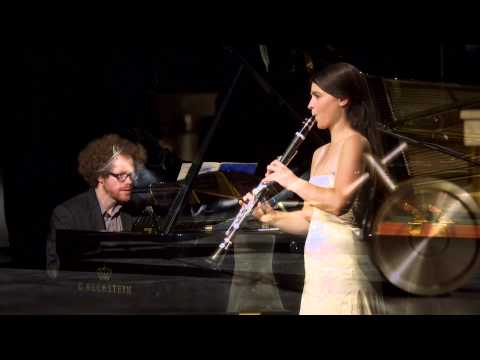 Carl Maria von Weber Grand Duo Concertant. Annelien Van Wauwe, clarinet and Lucas Blondeel, piano.